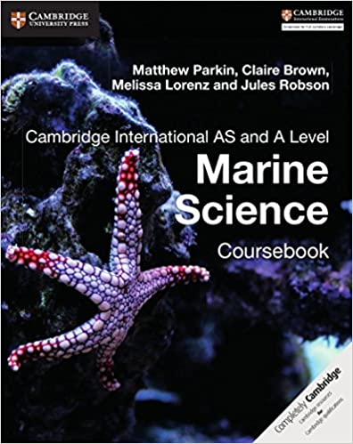 Cambridge International AS and A Level Marine Science Coursebook