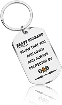 Cool Amazon Com Fanice Inspirational Anniversary Gifts Keychain For Funny Birthday Cards Online Unhofree Goldxyz