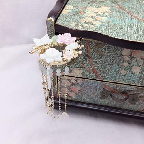 ヘアアクセサリー ヴィンテージ 髪飾り 花嫁