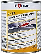 Förch K129 carrosserie kit 1 kg blik strijkbaar voor eenvoudige penseelverwerking, sneldrogend, overlakbaar, duurzaam elastisch
