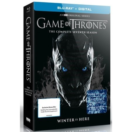 Game Of Thrones: Season 7 (Blu-ray + Digital) with Exclusive Bonus Disc-Building the Unimaginable: Inside the VFX Department