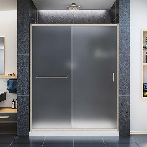 Frosted Shower Door Amazon Com