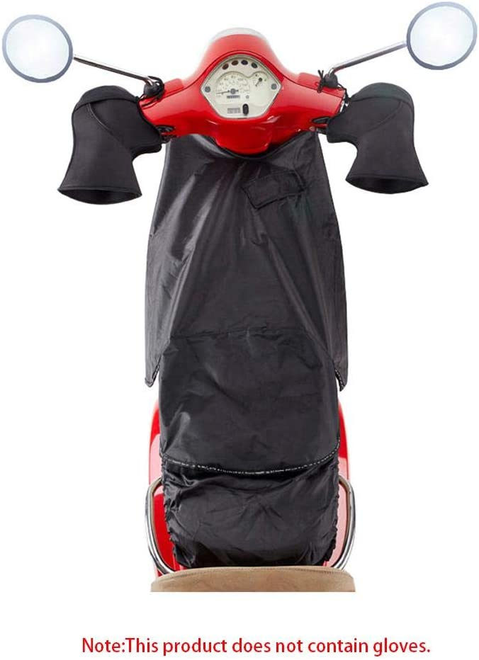 Leg Lap Apron Cover Thermal Waterproof Windproof Scooter Leg Covers Leg Warming Protector Knee Warm Quilt With Gloves for Scooter Electric Cars Motorbike