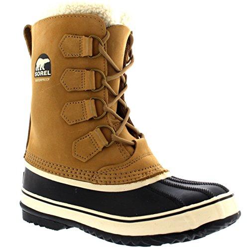 SOREL Womens 1964 Pac 2 Rain Winter Snow Waterproof Mid Calf Duck Boots - Buff - 8/39