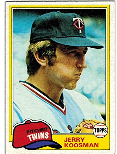 1981 Topps Minnesota Twins Team Set with John Castino & Jerry Koosman - 27 Cards
