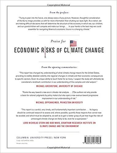 Economic Risks of Climate Change: An American Prospectus: Trevor ...