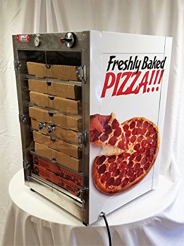 HeatMax 19x19x29 Hot Box with Pizza Fund Raising Decals