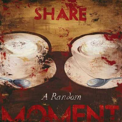 24W x 24H Share A Random Moment by Rodney White - Stretched Canvas