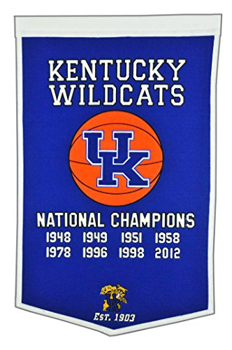 Winning Streak NCAA Kentucky Wildcats Dynasty Banner ()