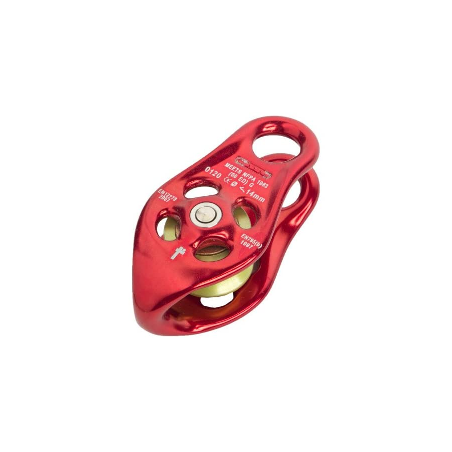 DMM Pinto Pulley, 93 x 45 x 35mm, Red