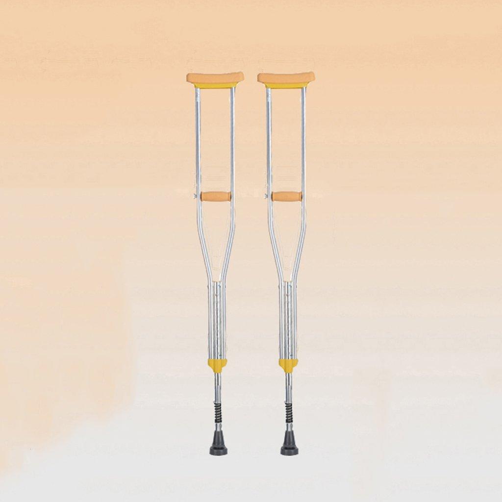 NUBAO 障害のある人のための障害のある人のための障害のある松葉杖/杖自由な伸縮性のあるスプリング付き調節可能な範囲106154 Cm(41.73-60.63インチ) (色 : ダブル, サイズ さいず : (1)) B07D23B7KN ダブル1
