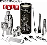 Mixology Bartender Kit 12-Piece Bar Set For an Awesome Drink Mix Deal