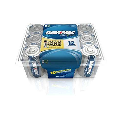 Rayovac Alkaline Batteries 813 12PP Recloseable