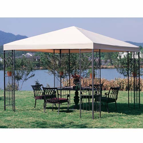 Garden Winds Belletti Gazebo Replacement Canopy Top Cover by Garden Winds