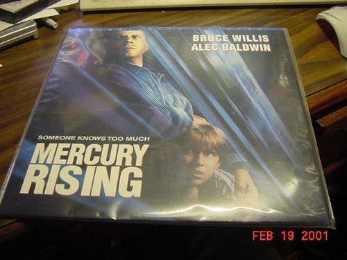 Mercury Laser - Laserdisc Laser Disc Of MERCURY RISING With Bruce Willis, Alec Baldwin, Chi McBride, and Kim Dickens.