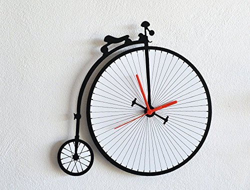 Penny Farthing Vintage Bicycle - Wall Clock