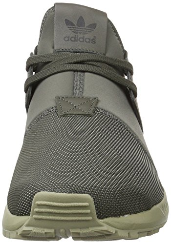 adidas Zx Flux Plus, Men's Low-Top Sneakers Green (Utility Grey/Utility Grey/Ftwr White)