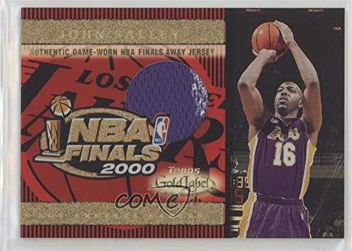 John Salley (Basketball Card) 2000-01 Topps Gold Label - NBA Finals Jersey #TT9A ()