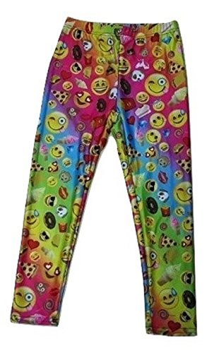 Top Trenz Emojicon Leggings-Size 12/14 -