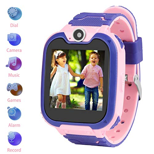 (Kids Smartwatch Children Phone Smart Watch Two-Way Call SOS Games Camera Music Player 1.54 inch Touch Screen Boys Girls Gift ...)