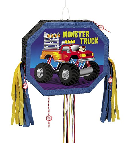 Monster Truck Pinata Pull String