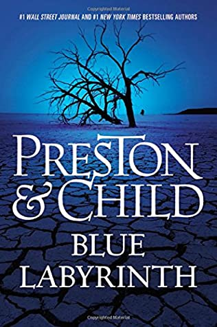 book cover of Blue Labyrinth