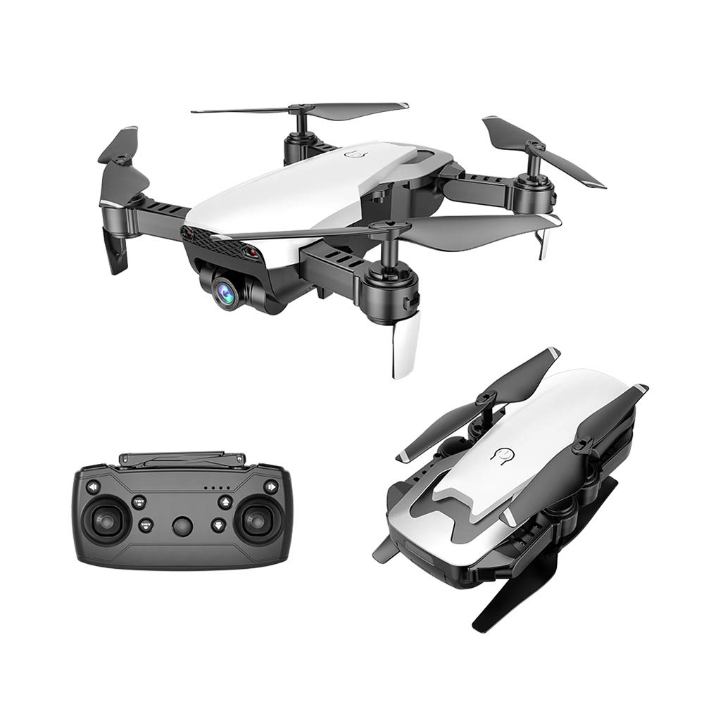 White Goolsky Dongmingtuo X12S 1080P Drone with Camera Wide Angle WiFi FPV Optical Flow Positioning Altitude Hold Gesture Photography Quadcopter
