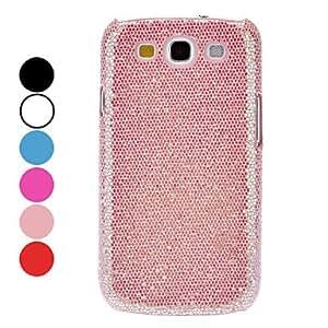 Glitter Powder Hard Case for Samsung Galaxy S3 I9300 --- COLOR:White