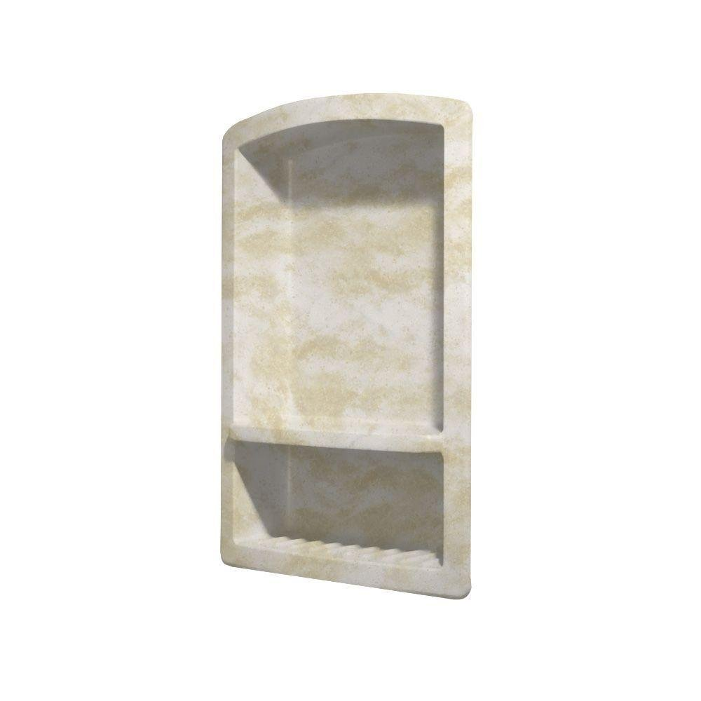 Swanstone RS-2215-125 Recessed Wall-Mount Solid Surface Soap Dish ...