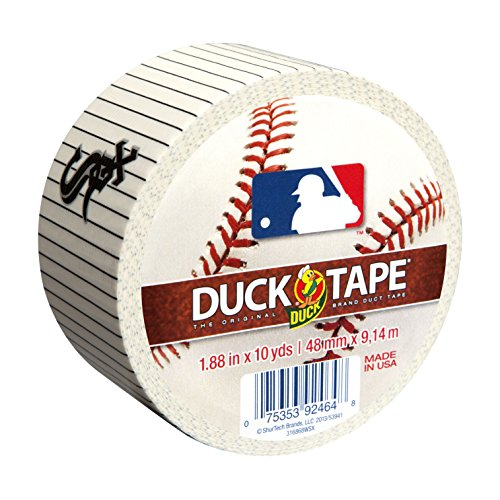 Duck FBA Brand 240739 Chicago White Sox MLB Team Logo Duct Tape, 1.88-Inch by 10-Yard, 1-Pack, Single Roll - Sox Gift Mlb