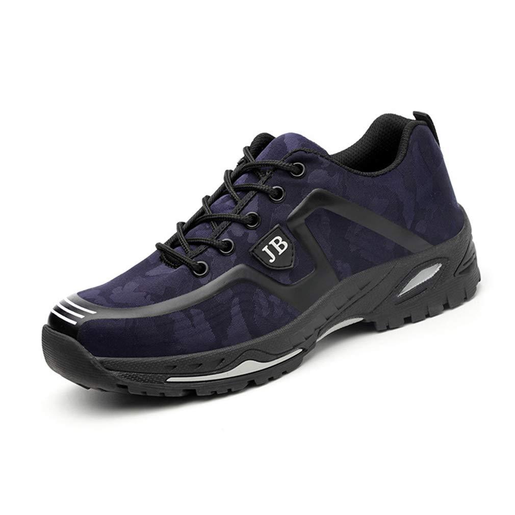 Zapatos de Trabajo Seguros Puntera de Acero Botas de Seguridad Ligeros Respirables Primavera Verano Zapatillas de Protection de S/écurit/é Unisex para Industrial y Deportiva