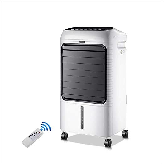 HONG FAN Pequeño acondicionador de Aire/Ventilador móviles, refrigerador de Aire para el Control Remoto Elegante de la Oficina del Dormitorio 65W / 220V: Amazon.es: Hogar