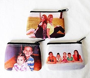 Detalles de Monedero Personalizado Doble Cara, Grabado, Foto, Regalo, Cartera, Billetero: Amazon.es: Equipaje