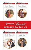 img - for Harlequin Presents April 2015 - Box Set 1 of 2: The Billionaire's Bridal Bargain\The Italian's Deal for I Do\At the Brazilian's Command\The Sheikh's Princess Bride book / textbook / text book