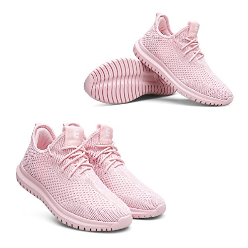 EAST LANDER Men's & Women's Sneakers Lightweight Athletic Shoes Walking Casual Sneakers Lace-up Running Sports Shoes SPT002-W1-38 by EAST LANDER (Image #5)