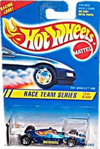 Hot Wheels Blue Card - 1994-1995 Hot Wheels Race Team Series 2 of 4 HOT WHEELS 500 #276 blue card (BLUE INDY CAR)