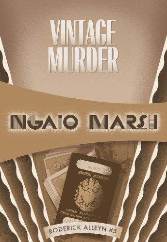 Vintage Murder: Inspector Roderick Alleyn #5 (Inspectr Roderick Alleyn) (Inspector Alleyn Mysteries A Man Lay Dead)