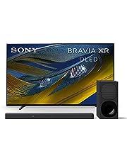 $2696 » Sony A80J 65 Inch TV: BRAVIA XR OLED 4K Ultra HD Smart Google TV w/Dolby Vision HDR & Alexa Compatibility XR65A80J- 2021 Model + Sony HT-G700: 3.1CH Dolby Atmos/DTS:X Soundbar w/Bluetooth Technology