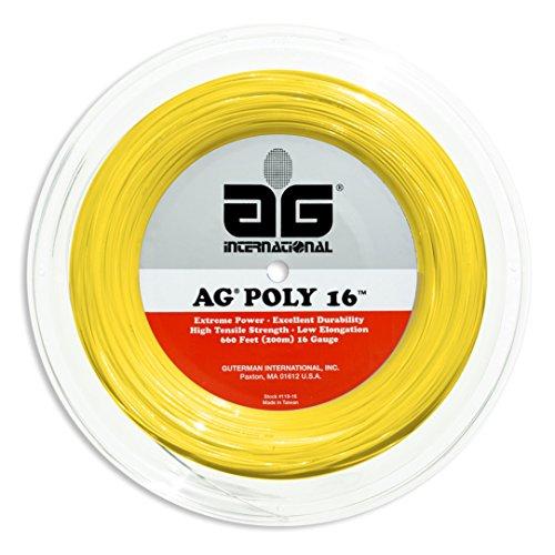 AG Victor Tennis String Reel-15L-Pink