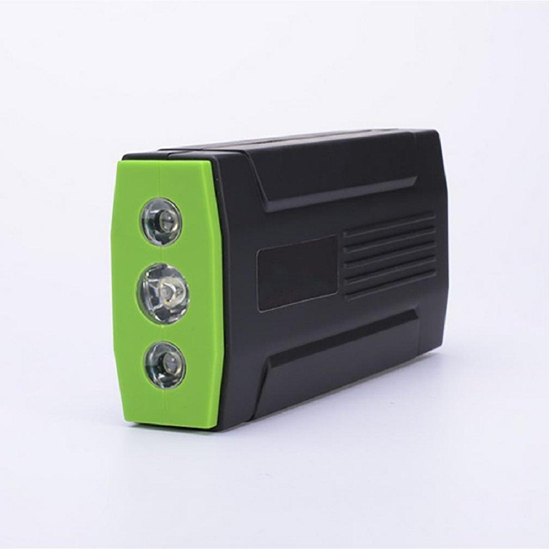 多機能ポータブル車スターター/400Aピーク/緊急モバイル電源/LED懐中電灯/外部バッテリー/車の充電用充電器 B07D6Q3684