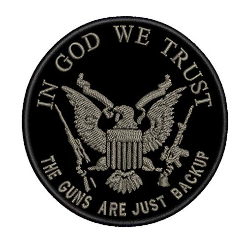 - in God We Trust - The Guns are Just Backup 3.5