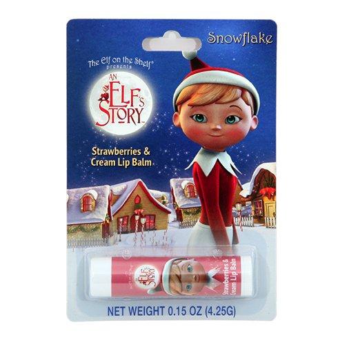 Boston America Elf on The Shelf Snowflake Lip Balms, Pack of 12 -