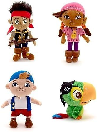 Amazon.es: Disney Store Jr. Jake y los Piratas de Nunca Jamás ...
