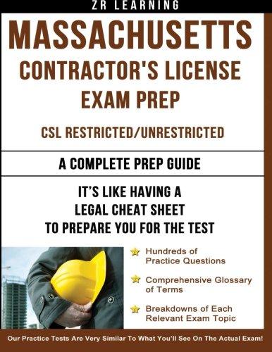 Massachusetts Contractor's License Exam Prep