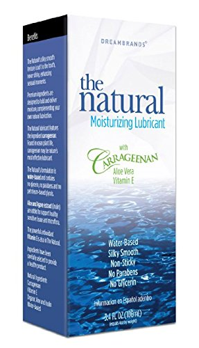Carrageenan Gently Natural Personal Lubricant 3.4 oz 2 PACK Made in USA by DreamBrands