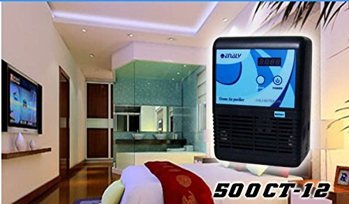 ELEOPTION Enaly 500CT-12 Home Office Ozone Generator Air & Water Purifier Sterilizer 500mg/h Highly Efficient
