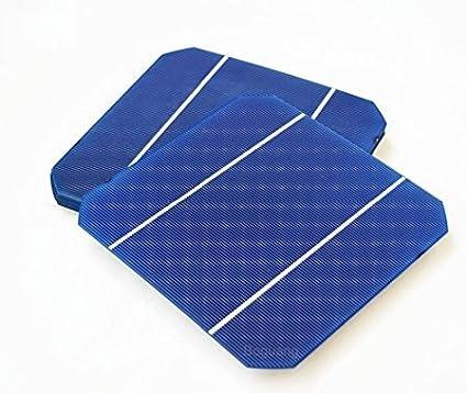 Xinpuguang 25pcs 156* 156mm efficacité photovoltaïque Silicium monocristallin cellules solaires 6x 6Prix Bon Marché Grade A pour DIY Poly Panneau solaire