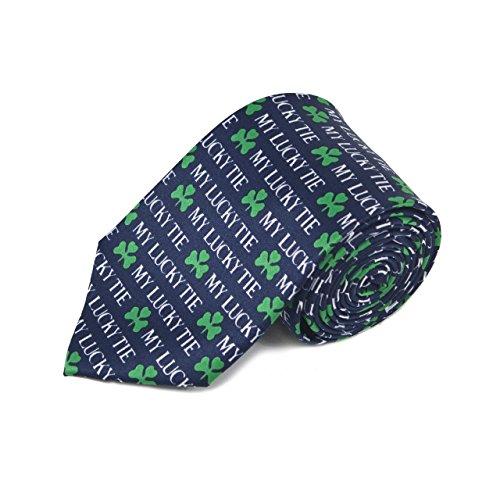 Shamrock Tie St. Patricks Day Clover (St Patrick's Day Ties)