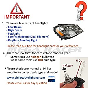 D2S D2C D2R Xenon HID 30000K Blue Light Low Beam Headlight Car Lamp Bulb OEM Factory Philips Replacement USA 66040 85122