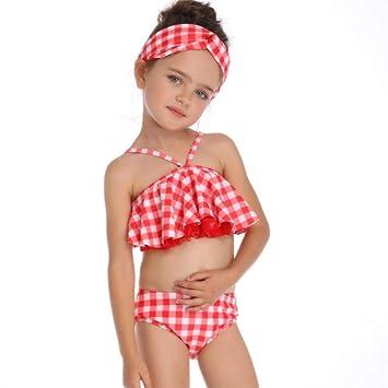 Traje de baño Bikini-Children s celosía Traje de baño ...